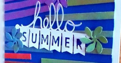 Tarjeta Hello Summer