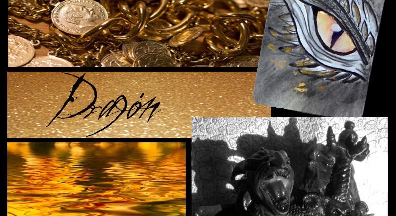 Reto Artistas 2019. Dragón y Oro