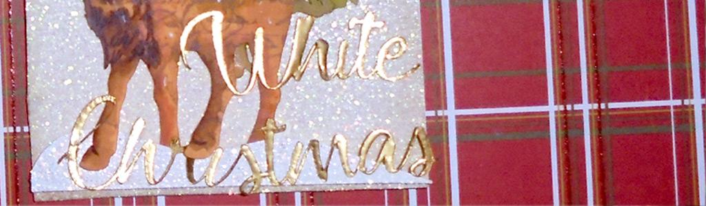Reto 1 de Vintage Odyssey.-White Christmas