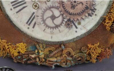 Reciclado a Reloj Steampunk