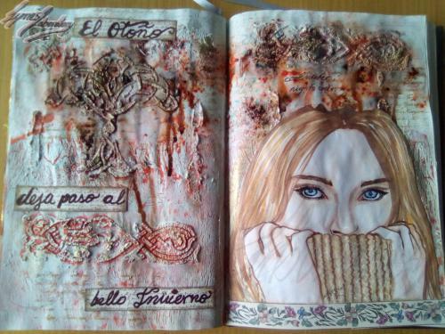 invierno crazy journal